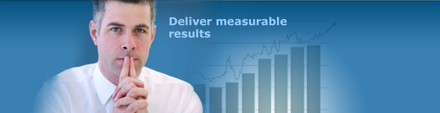 Deliver measurable results