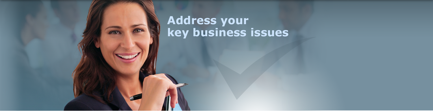 Address your key business issues